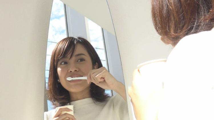 仕上げの歯磨き